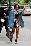 Kelly Rowland Leaves Hotel To Head To BeautyCon